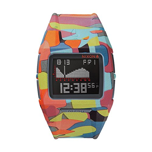 Nixon The Lodown II Watch - Neo Preen (Lodown Ii compare prices)