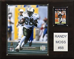 Buy NCAA Football Randy Moss Marshall Thundering Herd Player Plaque by C&I Collectables