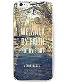 buy I Phone 4.7 Case For Iphone 6 - 2 Corinthians 5:7 We Walk By Faith Not By Sight