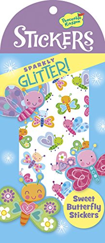 Peaceable Kingdom Glitter Sweet Butterfly Sticker Pack