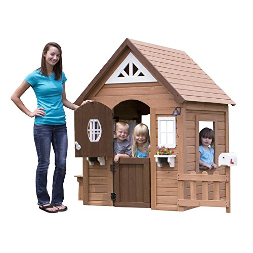 Backyard-Discovery-Aspen-All-Cedar-Wood-Playhouse
