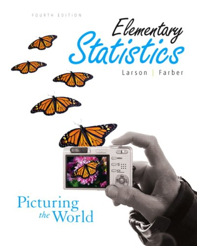 Elementary Statistics: Picturing the World Value Package (includes MathXL 12-month Student Access Kit)