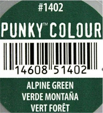 Jerome Russell Punky Colour Semi-permanent Hair Color - Alpine Green (Punky Hair Dye Alpine Green compare prices)