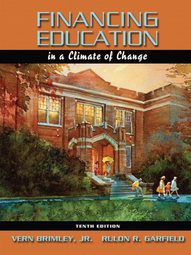 Financing Education in a Climate of Change (10th Edition)