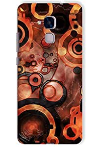 IndiaRangDe Case For Huawei Honor 5C Printed Back Cover
