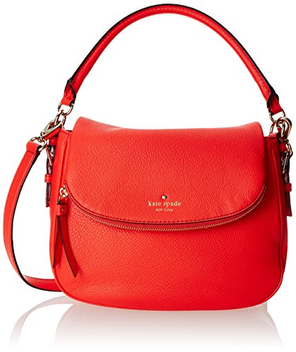 kate spade new york Cobble Hill Small Devin Top Handle Bag, Geranium, One Size