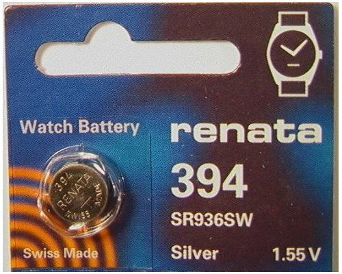 Renata 394 Button Cell watch battery
