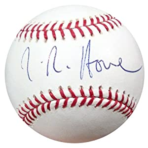 J.R. House Autographed Hand Signed MLB Baseball PSA DNA #S52617 by Hall of Fame Memorabilia