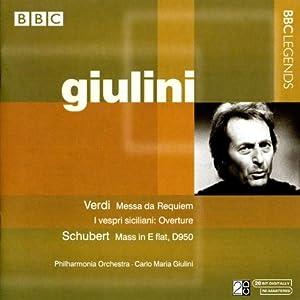 Verdi:  Requiem; Overture to I