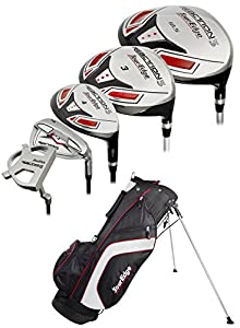 Tour Edge Golf- Reaction 3 Complete Set With Bag Graph/Steel