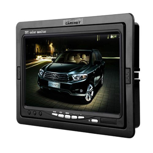 CARCHET-7-Auto-KFZ-TFT-Farb-Monitor-fr-DVD-VCD-GPS-Rckfahrkamera-Remote
