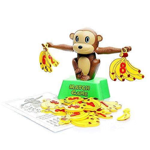 Beby Balance Waage Spielsachen Mathe Spiele Affe mit Banane Gewichten Großartig Bildungs Spielset für Kinder Lernen