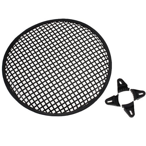 12 Inch Universal Metal Car Audio Speaker Sub Woofer Grill Cover Guard Protector Clips And Screws front-408932