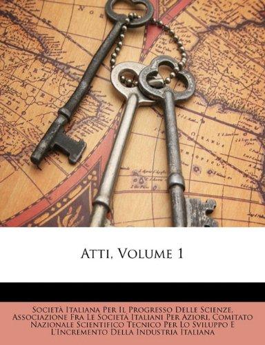 Atti, Volume 1