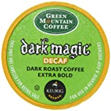 Green Mountain Coffee Decaf Dark Magic, 24-Count K-Cups for Keurig Brewers (Pack of 2)