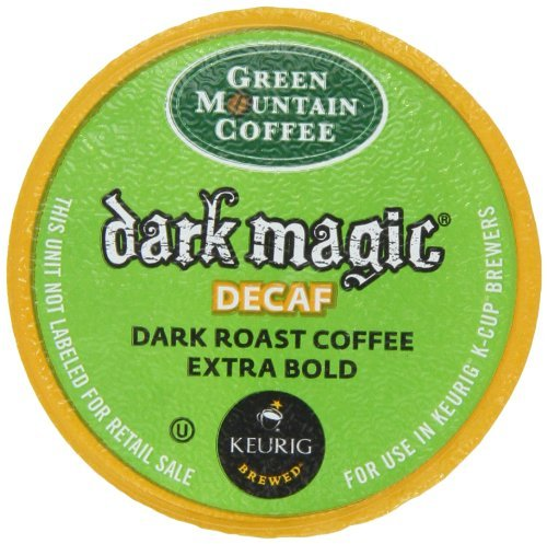 Green Mountain Coffee, Dark Magic Decaf, K-Cup For Keurig Brewers (Pack Of 96) front-595050
