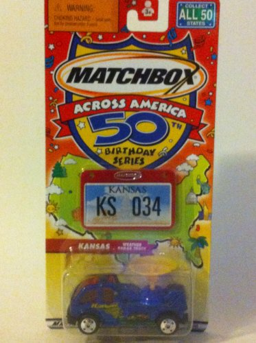 Matchbox Across America Kansas Weather Radar Truck