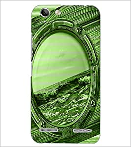 PrintDhaba Mirror D-3899 Back Case Cover for LENOVO VIBE K5 (Multi-Coloured)