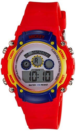 Disney Disney Digital Multi-Color Dial Boys's Watch - 1K2314P-MC-002RD (Multicolor)