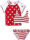 Snapper Rock  Stars n Stripes UV-Protective girls 3 Piece sun set