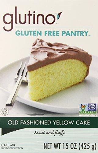 Glutino Old Fashion Yellow Cake Mix, 15 oz (Glutino Sugar Cookie Mix compare prices)