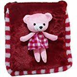 Tickles Red Teddy Sling Bag Stuffed Soft Plush Toy 25 Cm