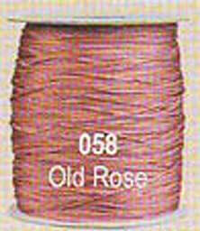 #058 Old Rose Chainette Shawl Fringe - 1800 ft Spool