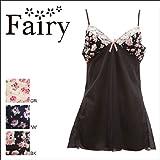 (フェアリー)Fairy コットンローズ スリップ(NV-ネイビー、M-75)