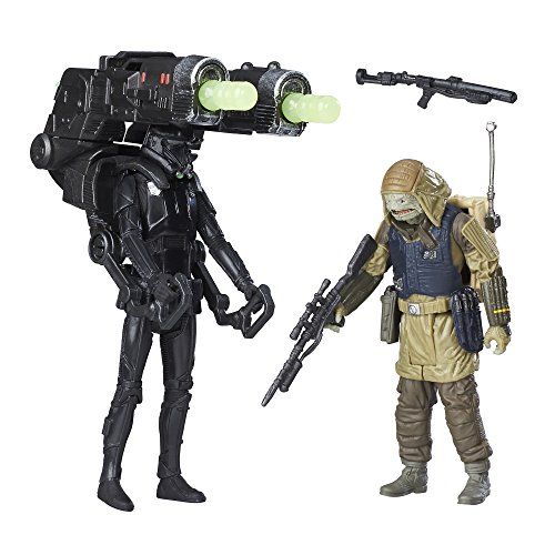 Rogue One Imperial Death Trooper & Rebel Commando Pao