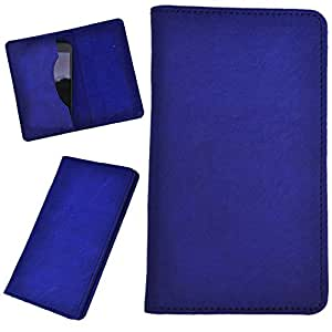 DCR Pu Leather case cover for HTC Desire 600 (blue)