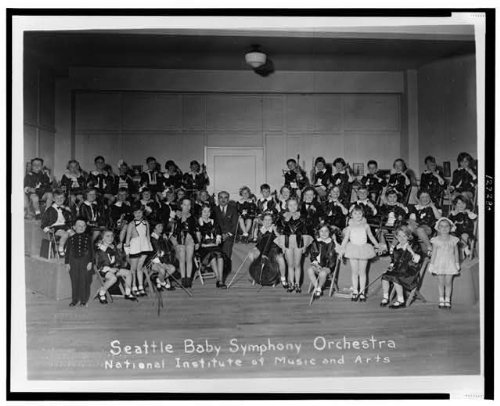 Photo: Seattle Bay Symphony Orchestra,National Institute of Music & Arts,c1935,Youth (Seattle Youth Symphony Orchestra compare prices)