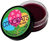 NOT Soap Radio Greeting Card Lip Balm Congrats You're The Best 0.51 Ounce