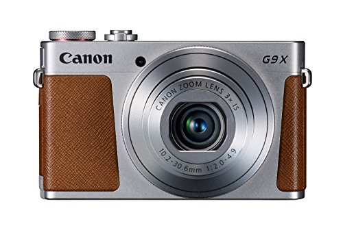 Big Save! Canon PowerShot G9 X Digital Camera with 3x Optical Zoom, Built-in Wi-Fi and 3 inch LCD (Silver)