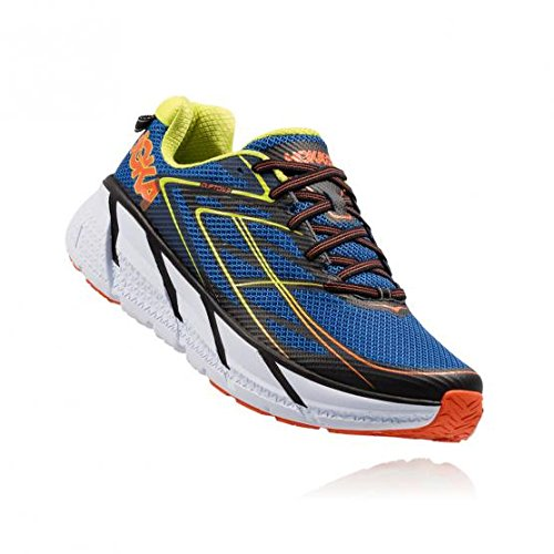 Hoka One One Clifton 3 Blue Red Orange 45