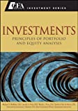 img - for Investments: Principles of Portfolio and Equity Analysis (CFA Institute Investment Series) book / textbook / text book