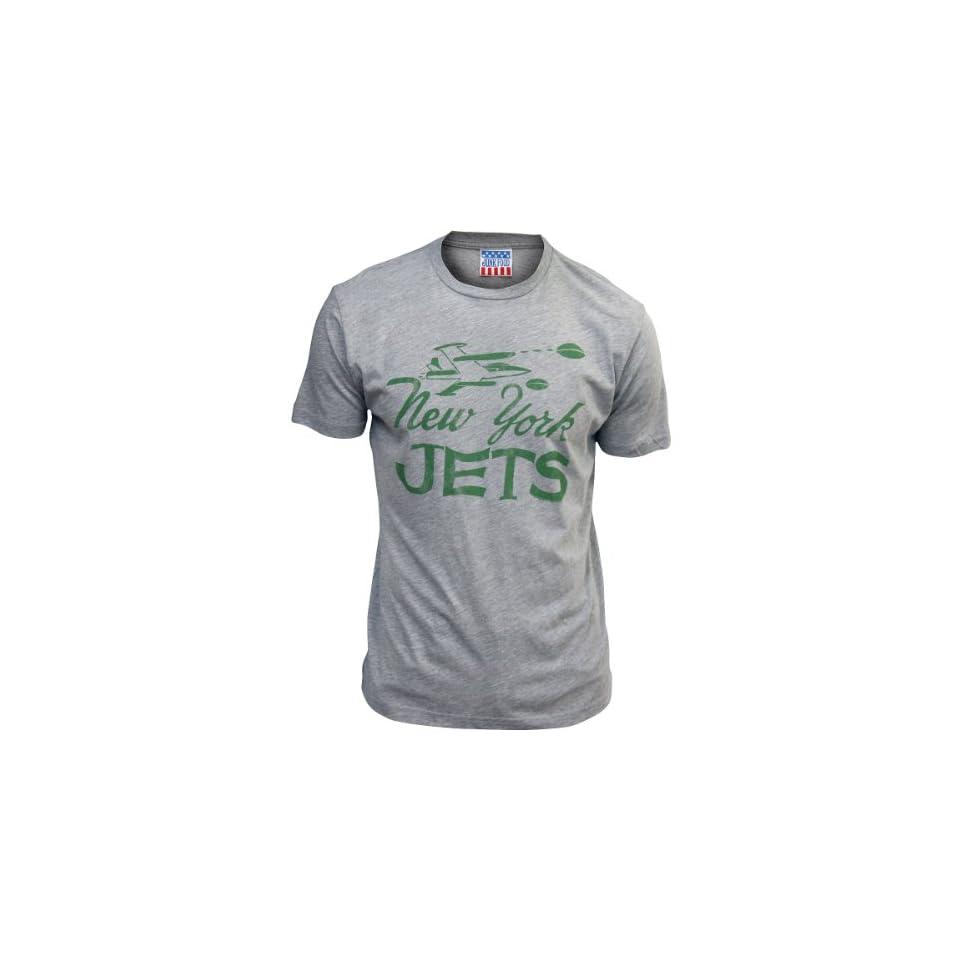 Junk Food New York Jets Retro T Shirt Small
