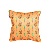 The Crazy Me DreamCatcher Cushion Cover(16 By 16 Inch)