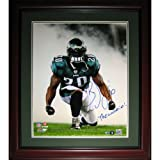 Brian Dawkins Autographed Philadelphia Eagles Deluxe Framed 16x20 Photo at Amazon.com