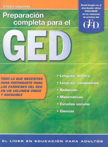 Steck-Vaughn GED, Spanish: Student Edition Preparaci?n...