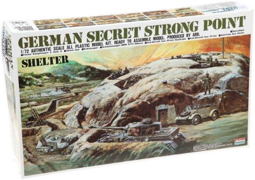 1/72 ドイツ軍 ストロングポイント ミリタリー秘密基地