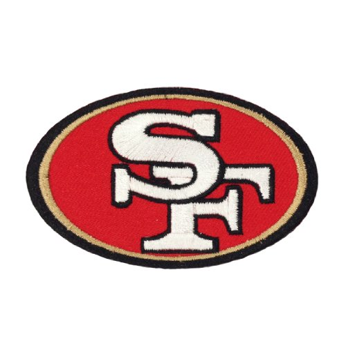 San Francisco 49ers Logo I Embroidered Iron Patches at Amazon.com