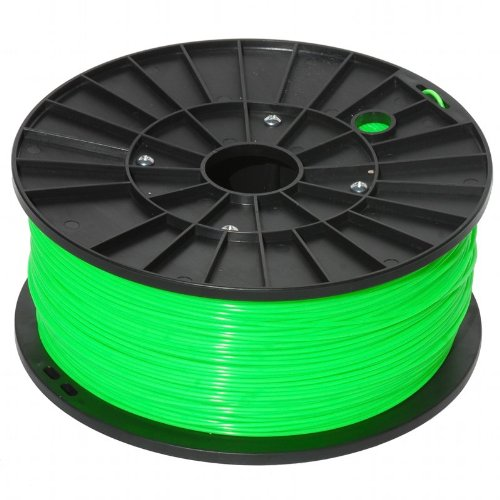 justabs - Green 1.75mm ABS Filament for 3D Printers (1kg/2.2lbs)