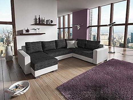Sofa Couchgarnitur Couch Sofagarnitur STY 5.2 U Polstergarnitur Polsterecke Wohnlandschaft mit Schlaffunktion