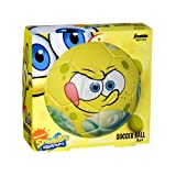 Franklin Sports Nickelodeon SpongeBob SquarePants Size 3 Air Tech Soccer Ball