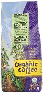 The Organic Coffee Co. Whole Bean, Guatemala Maya Lake, 12 Ounce