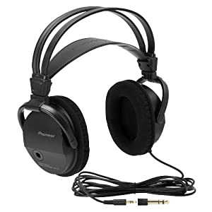 Pioneer SE-M290 High Performance Ported AV Over-Ear Headphones (Black) (Discontinued by Manufacturer)