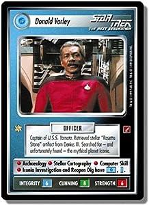 Star Trek Ccg 1e Bog Blaze Of Glory Donald Varley Gr69