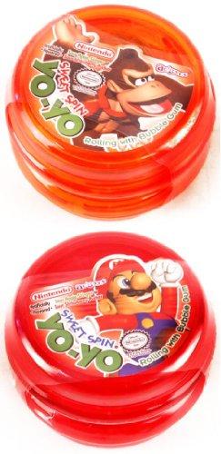 Nintendo Sweet Spin Yo Yo Novelty Bubblegum Toys 12 count
