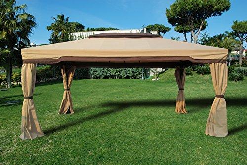 Telo per Gazebo Cipro 3,6x4,8 metri colore ecru solo tettuccio