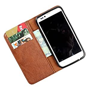 For Samsung Galaxy Trend - PU Leather Wallet Flip Case Cover